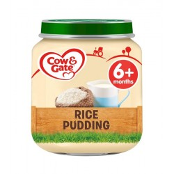 COW&GATE 125G RICE PUDDING 6M PACK 6