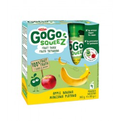 GOGO SQUEEZE PLATANO 90G PACK 4