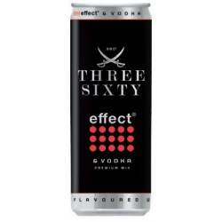 THREE SIXTY + EFFECT LATA 0,33 12 UND 5%