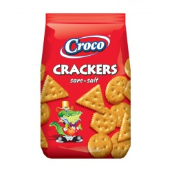 CROCO CRACKERS SALADOS 100G 12UN