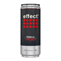 EFFECT & VODKA LATA 330ML CJ 24 UN 5º