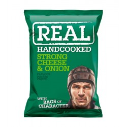 REAL 35G CHEESE & ONION VERDE CJ 24UN