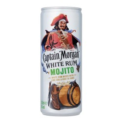 CAPTAIN MORGAN MOJITO LATA 0,25 LT CJ 12UN