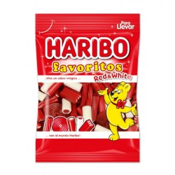 HARIBO 90G FAVORITOS REGALIZ RED MIXCJ18