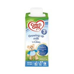 COW&GATE LECHE GROWING UP 3 ROJO 0,2L 15