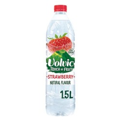 VOLVIC STRAWBERRY 1,5 LT PACK 6UN