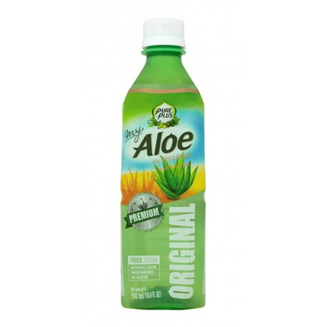 PURE PLUS ALOE ORIGINAL PET 0,5 LT CJ 20